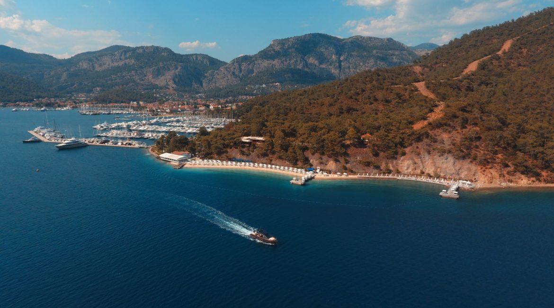 View of the D-Resort Beach