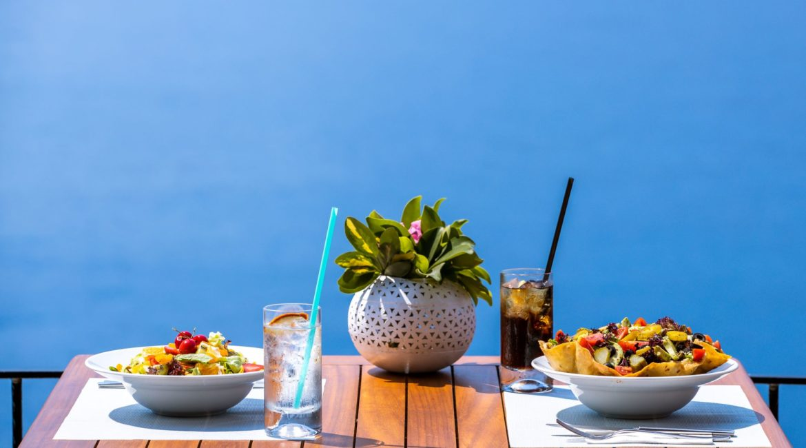 Lunch with magnificent sea views at the Deniz Feneri