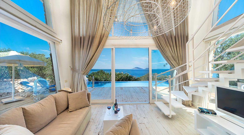 Likya Pavilion Pool House interior and superb views