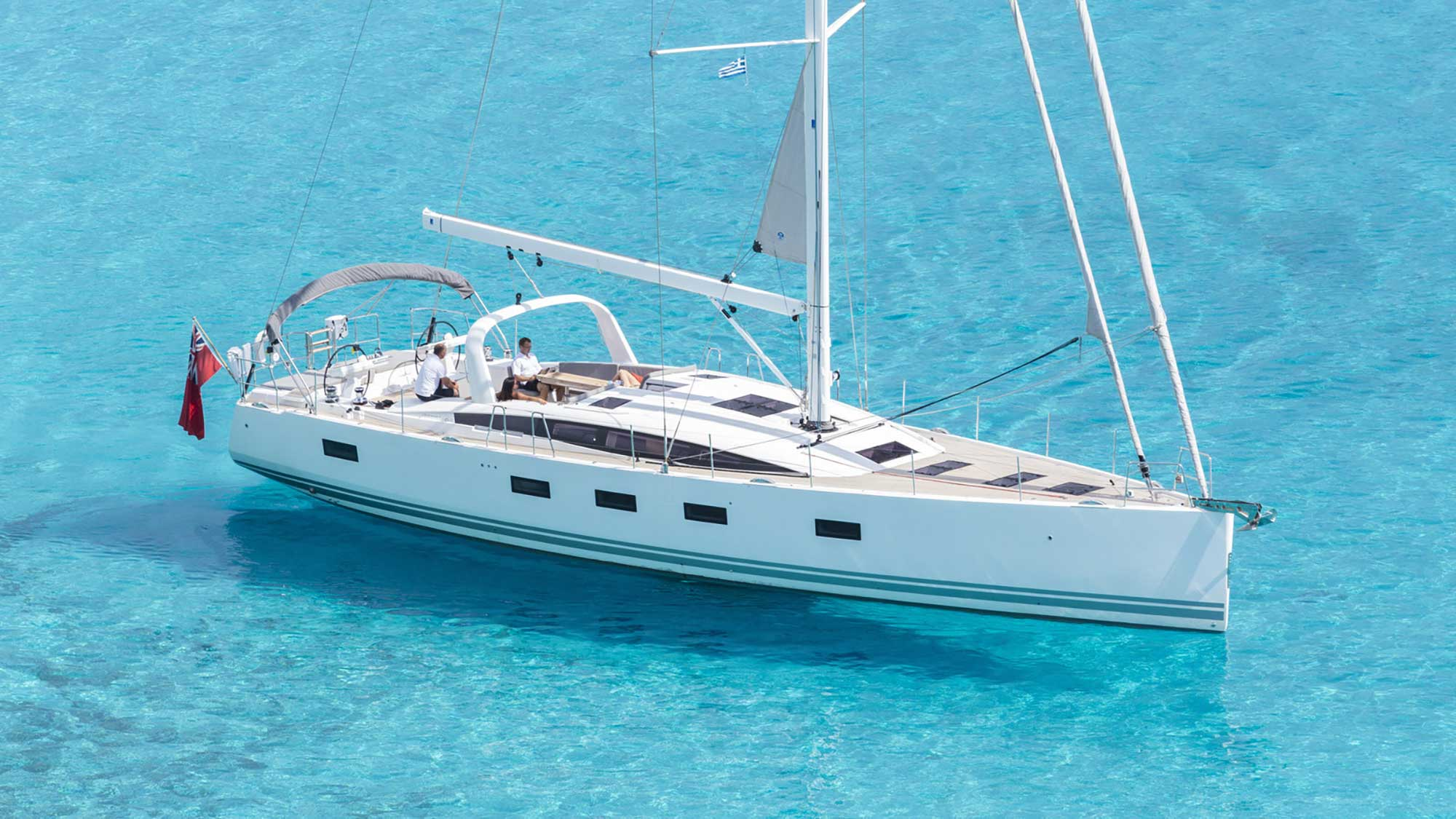 Sail the crystal clear water of the Ionian on the Argentous