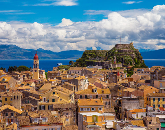 Gorgeous views in Corfu