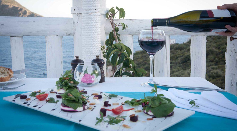 Fine dining at the Likya Restaurant