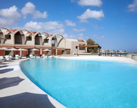 Main pool at Domes Noruz
