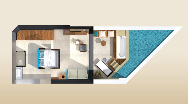 Sublime Loft Suite plan