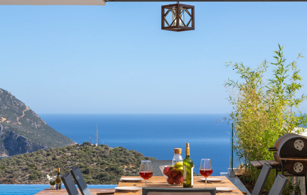 View from Villa Marvel
