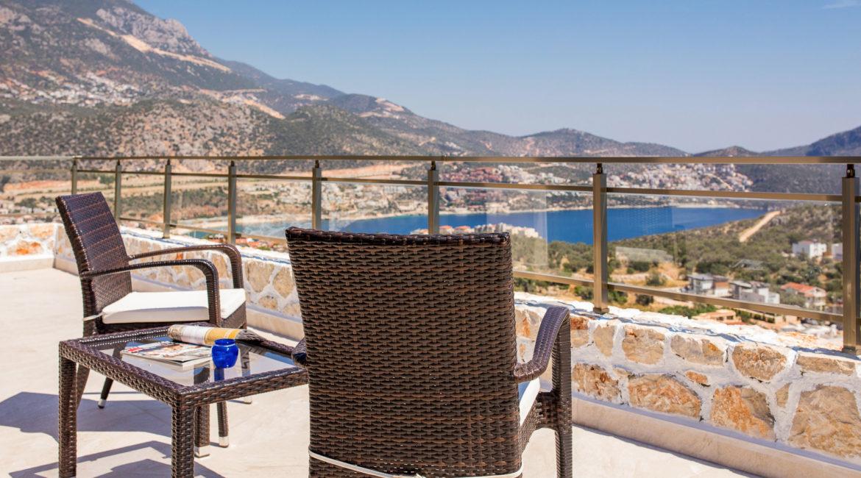 Villa Shine view from top bedroom terrace
