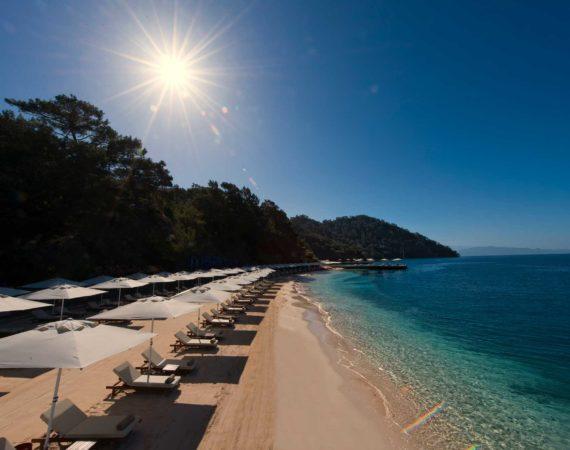 D Resort private beach Gocek