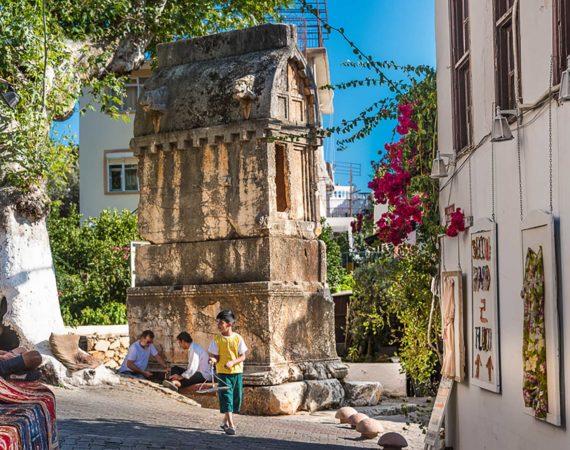 Lycian Tombs in Kas