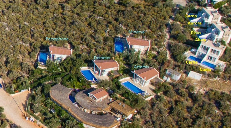 Likya Pavilion - Aerial shot