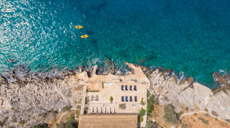 Mavi Koy Aerial photo of beach platforms