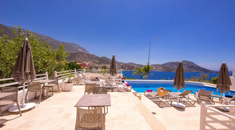 Saray suites pool area