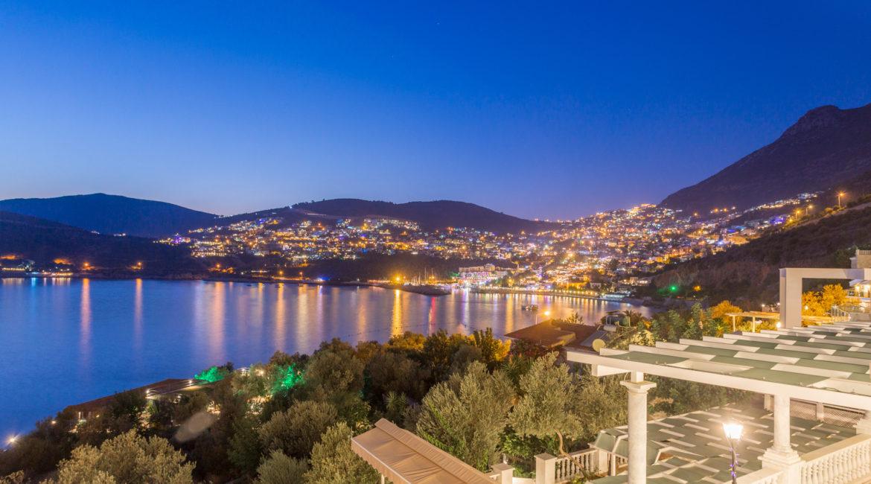View towards Kalkan at night