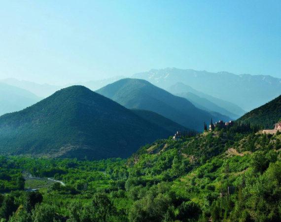 The Moroccan High Atlas mountains