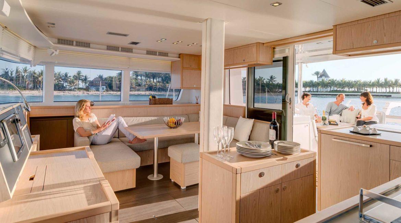 Aurous spacious and luxurious interior