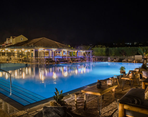 Avithos Resort in Avithos, Kefalonia pool