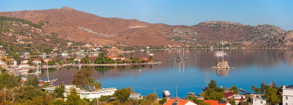 Badem Tatil Evi sea views
