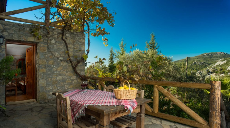 Chalet Vista terrace and views