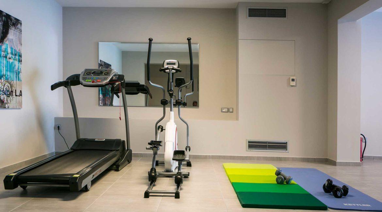 Villa Philoxenia gym room