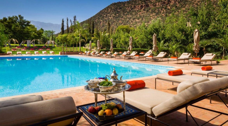 Relax by the inviting pool at Kasbah Tamado