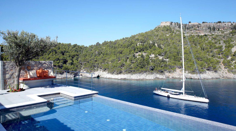 Villa Art Braunis Horio sea and castle views