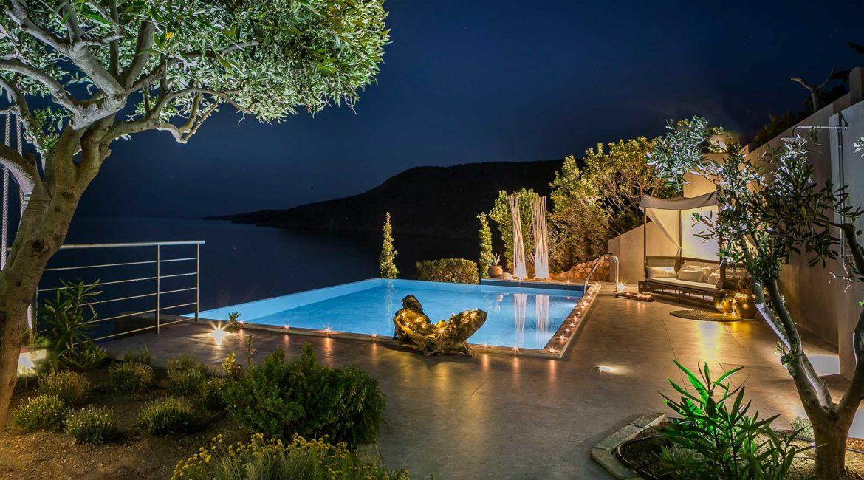 Villa Eleni Braunis Horio pool and terrace