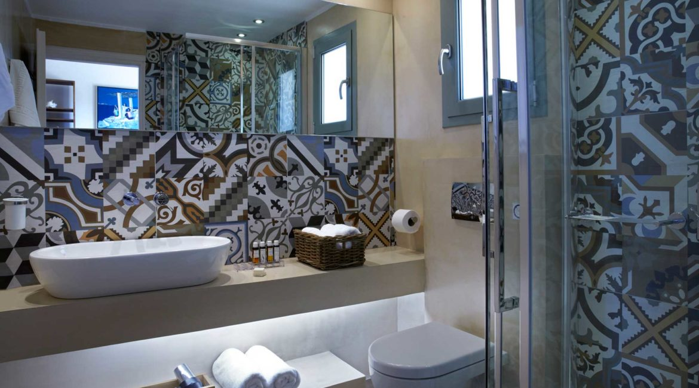 Villa Thea Braunis Horio shower room