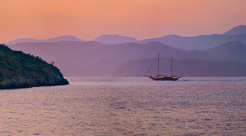 Seyhan Hanna at sunset