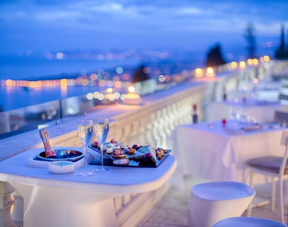 NH Collection Taormina outdoor dining
