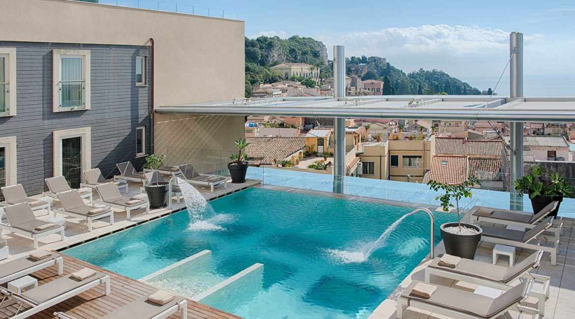 NH Collection Taormina lovely pool