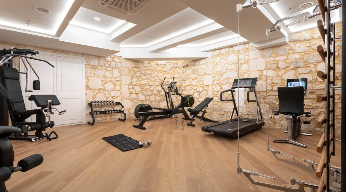 The Fitness room at Ortea Palace