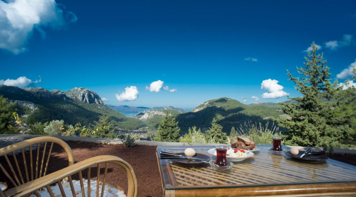 Stunning Views from Wolfs trail cottage