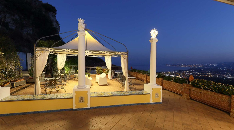Villa Angela terrace with super views
