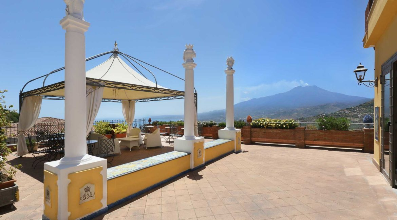 Villa Angela terrace