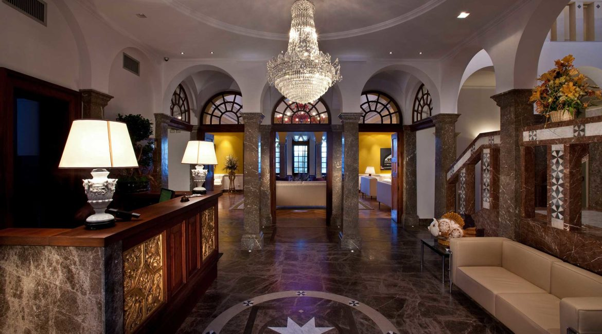 The Ashbee hotel beautiful reception