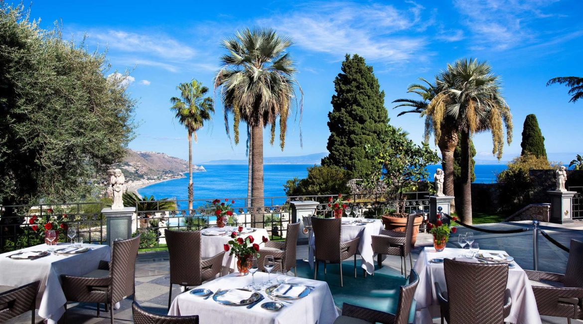 Fine dining at the Michelin star St George restaurant
