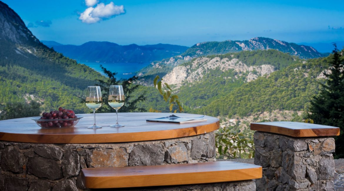 Stunning Views fro Wolf's Trail Cottage