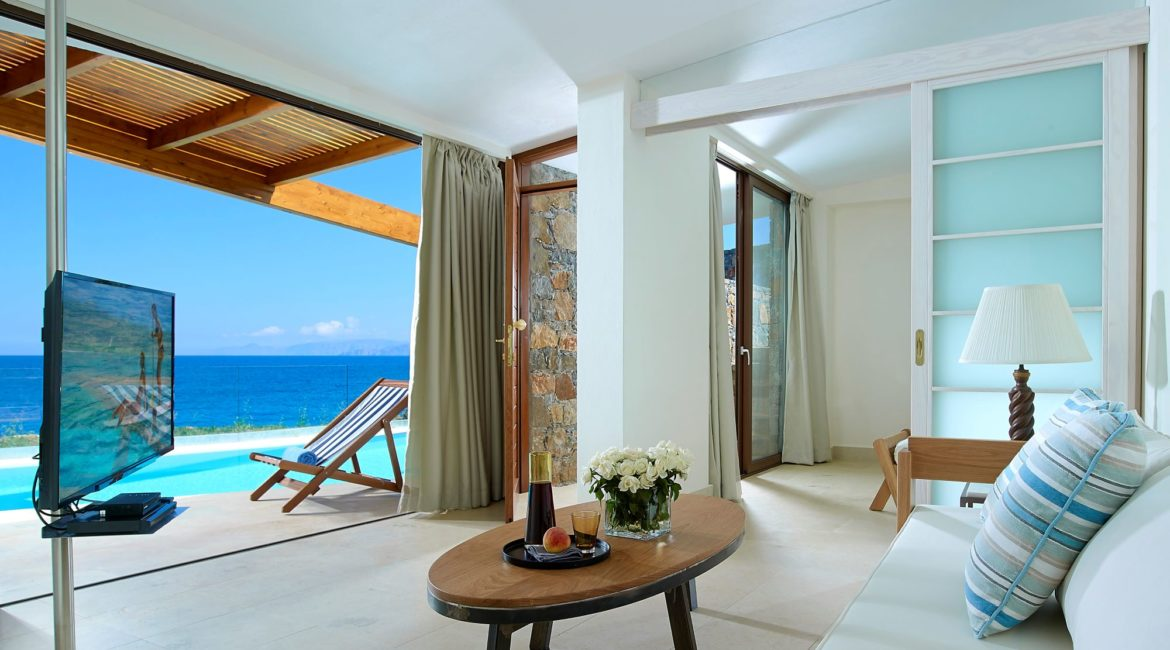 St Nicolas Bay Hotel Artemis 2-Bedroom Villa with Private Pool & Seafront