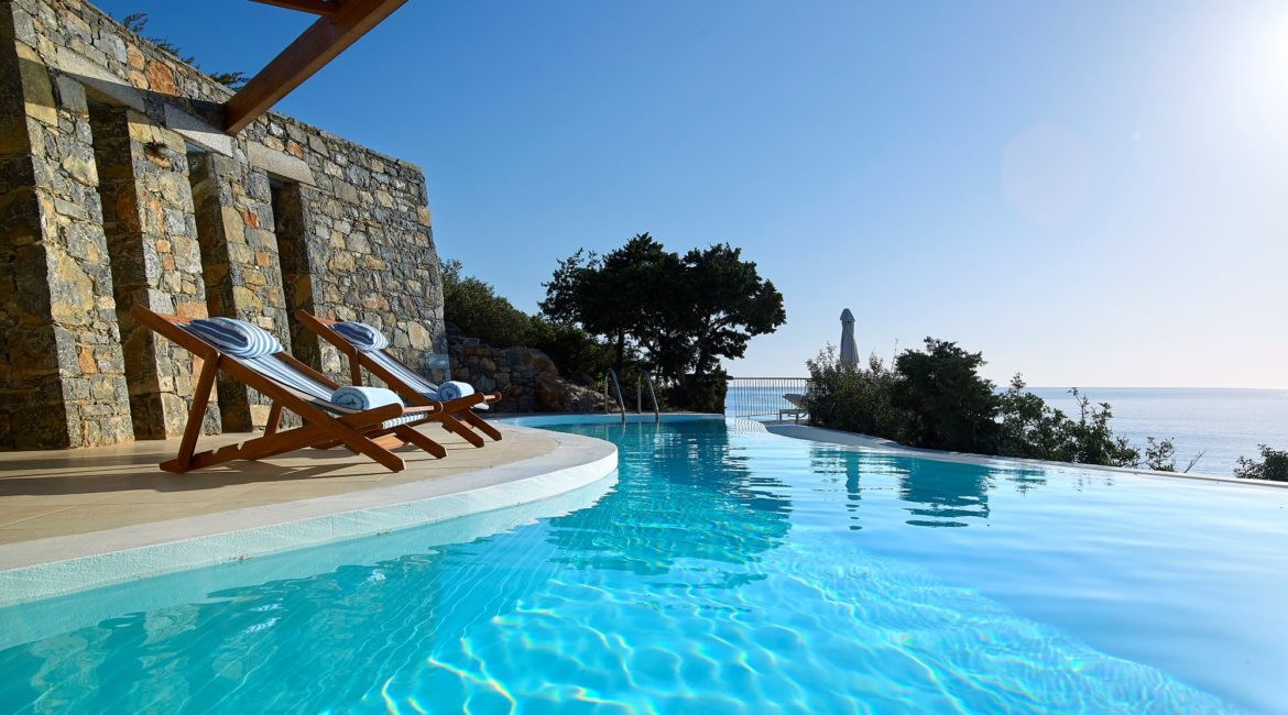 St Nicolas Bay Hotel Daphne & Chloe1 Bedroom Villa with Private Pool & Seafront