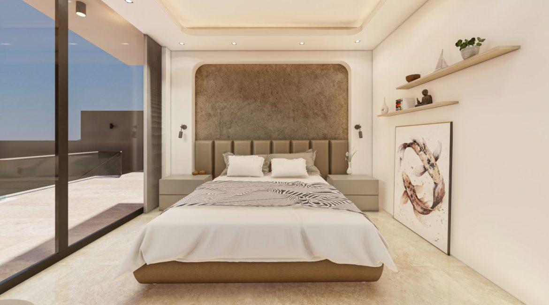 Villa Dreams double bedroom with balcony