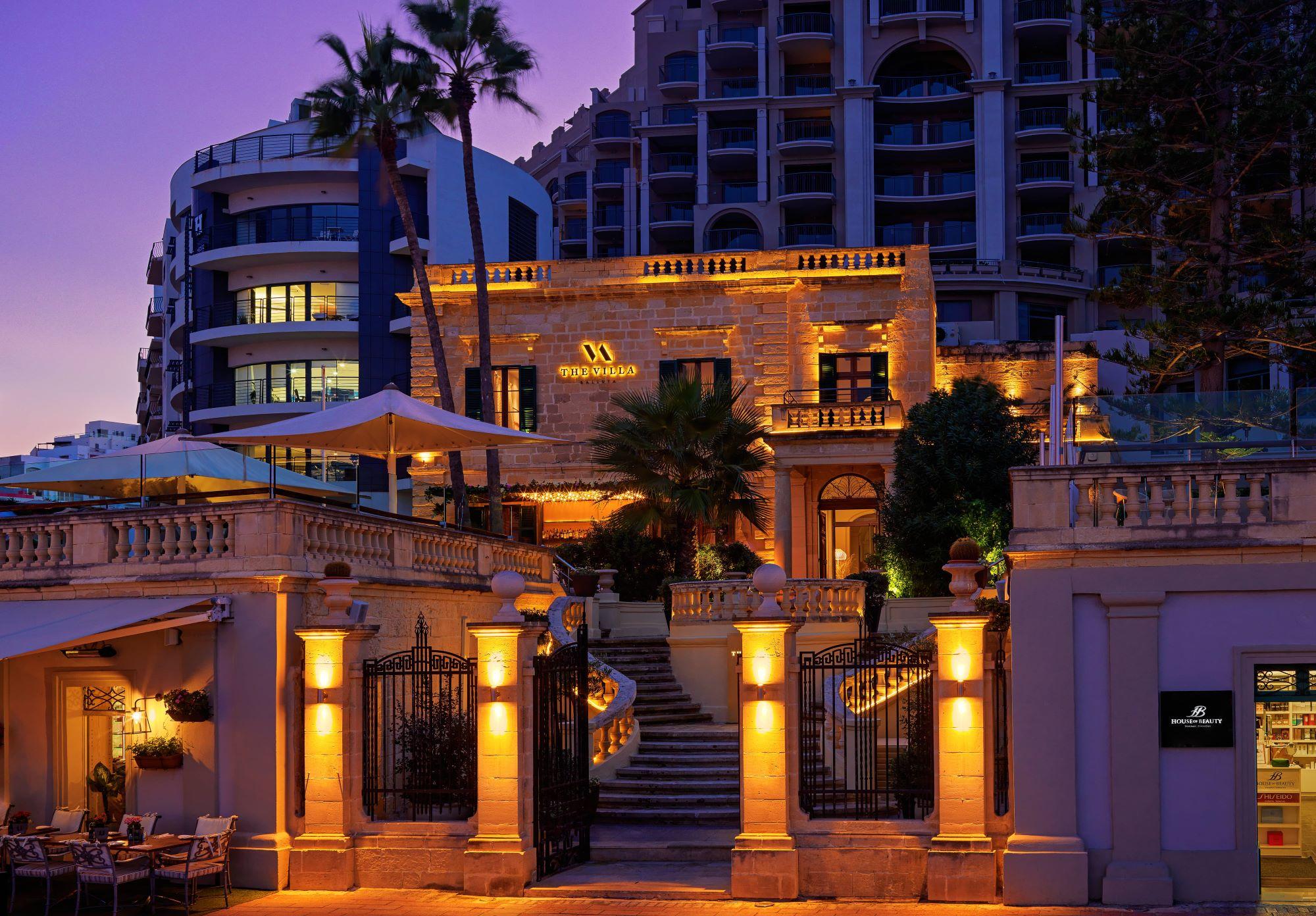 Marriott Malta Villa restaurant street view