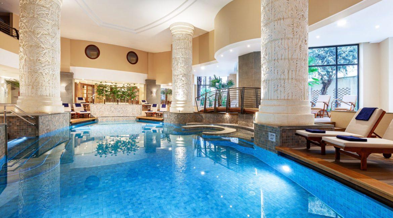 Marriott Malta indoor pool