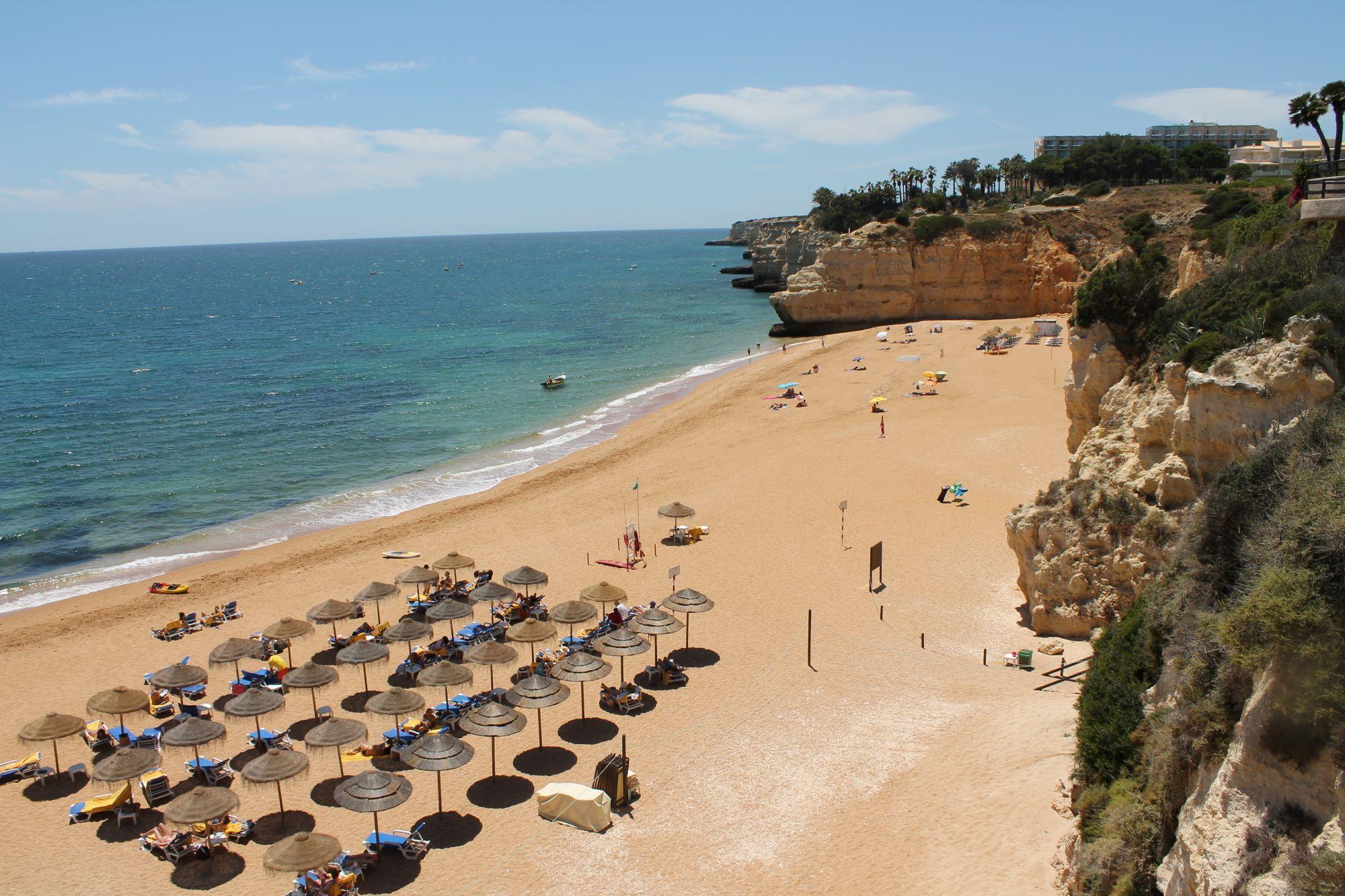 Vilalara Thalassa Resort Beach Area