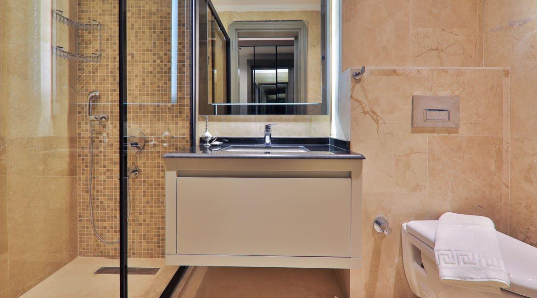 Villa Dream ground floor bedroom shower and wc