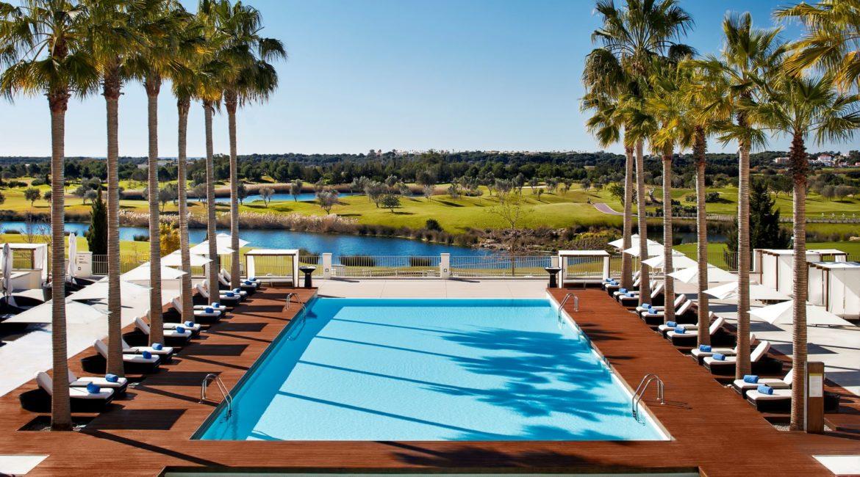 Anantara Vilamoura Algarve Resort Palms Pool
