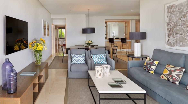 La Terrazas De Abama Suites 3 bedroom lounge
