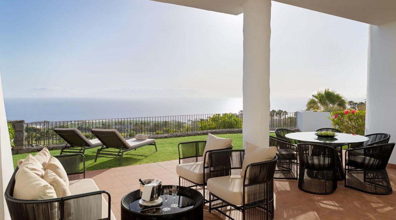 La Terrazas De Abama Suites 3 bedroom terrace and sea views