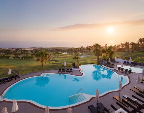 La Terrazas De Abama Suites Pool and Sea View