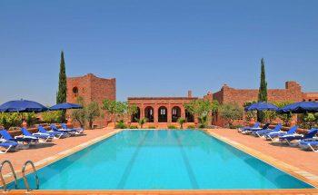 The large pool at Kasbah Angour