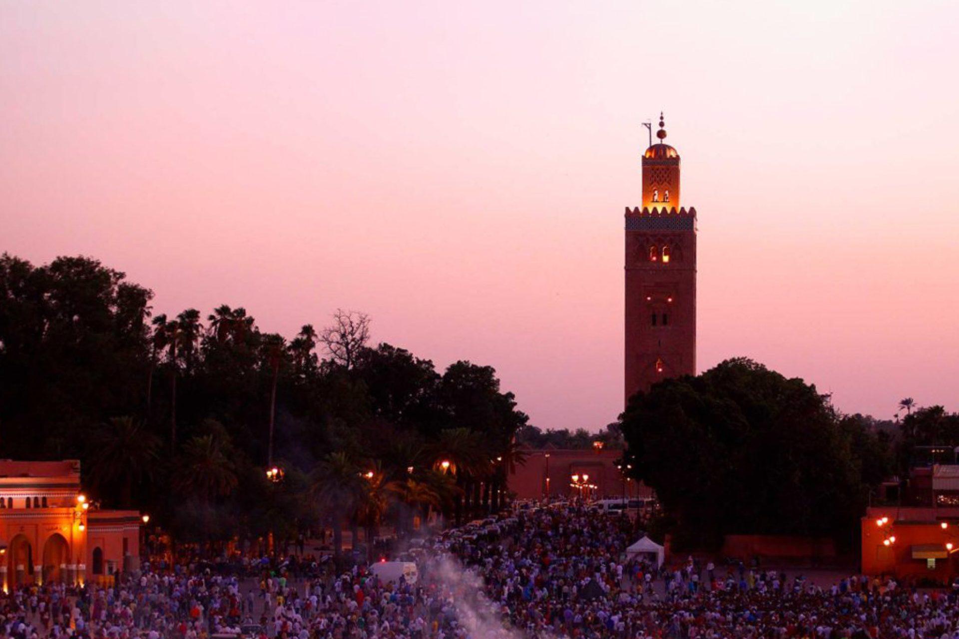 Jemma El Fna Square in Marrakesh