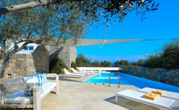 St Nicolas Bay Hotel Olive House 4 Bedroom Villa Seafront Private Pool